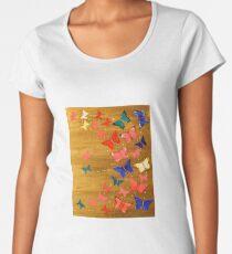 Butterfly Swirl Women's Premium T-Shirt