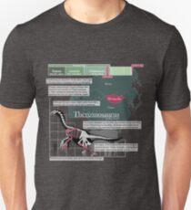 Camiseta ajustada Therizinosaurus Infographic