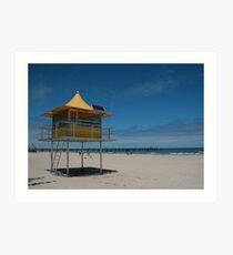 Glenelge Beach SA Art Print