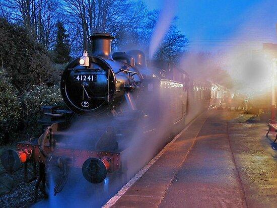Evening Train by Trevor Kersley