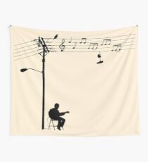 Wired Sound Wall Tapestry