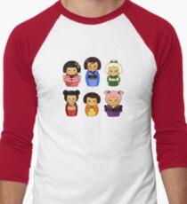 kokeshis Baseball ¾ Sleeve T-Shirt
