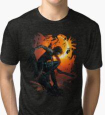 Lara's Shadow Tri-blend T-Shirt
