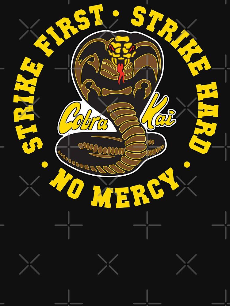 Cobra kai - Schlag erster Schlag schwer keine Gnade HD (Gold-Variante) von Purakushi
