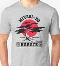 Karate Kid - Herr Miyagi Do Red Variant Slim Fit T-Shirt