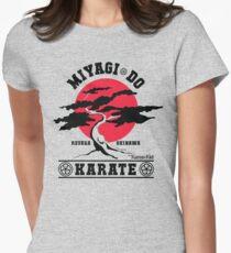 Karate Kid - Mr Miyagi Do Red Variant Women's Fitted T-Shirt