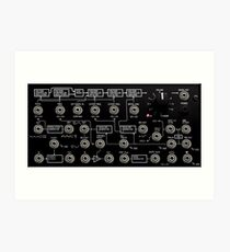 Awesome Synth - DJ synthesizer Art Print