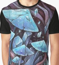 Mushrooms & Crystals Graphic T-Shirt