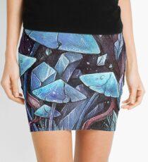 Mushrooms & Crystals Mini Skirt