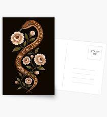 Schlangenzauber Postkarten