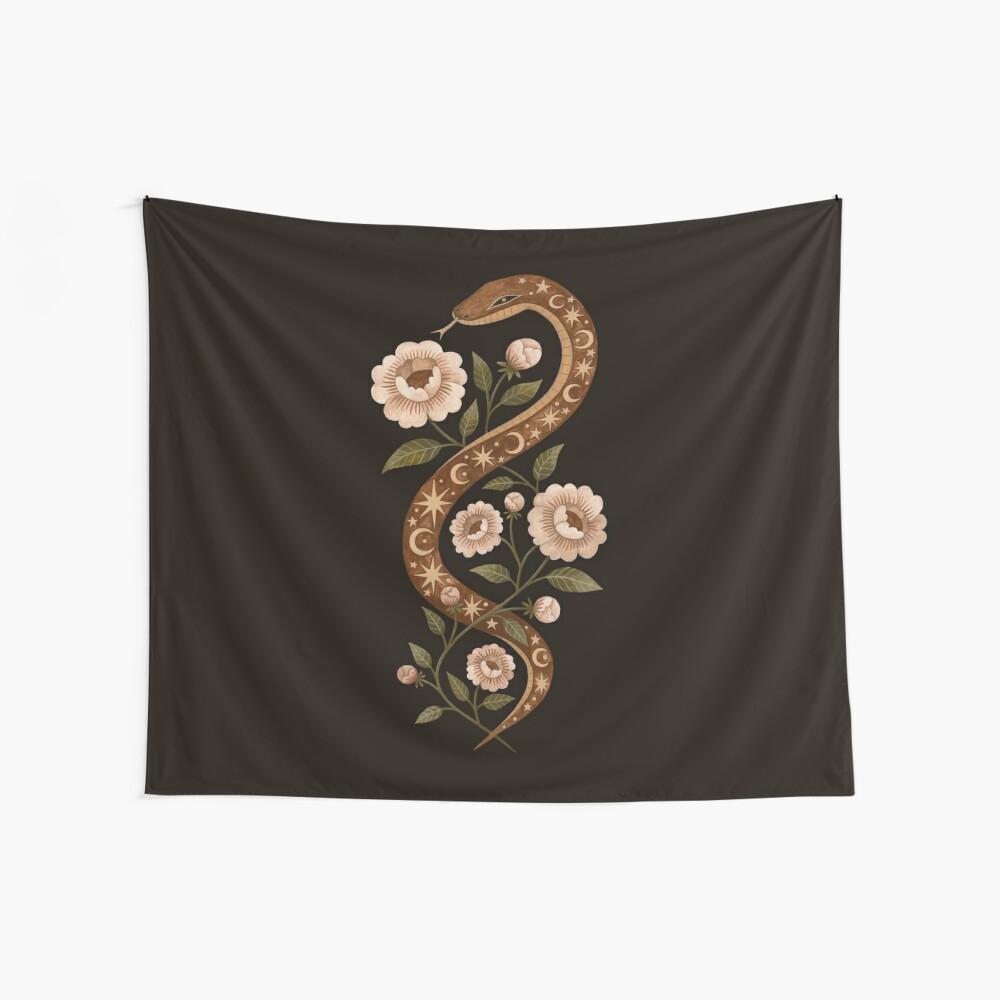 Serpent spells Wall Tapestry