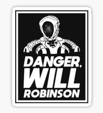 Danger, Will Robinson - Lost in Space Sticker