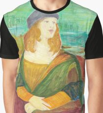Monalisa- Parks And Rec Graphic T-Shirt