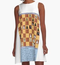 #Chess, #play chess, chess #piece, chess #set, chess #master, Chinese chess, chess #tournament, #game of chess, chess #board, #pawns, #king, #queen, #rook, #bishop, #knight, #pawn A-Line Dress