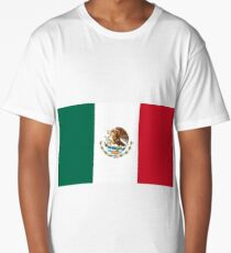 Mexican flag Long T-Shirt