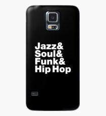 Jazz & Soul & Funk & Hip Hop Case/Skin for Samsung Galaxy