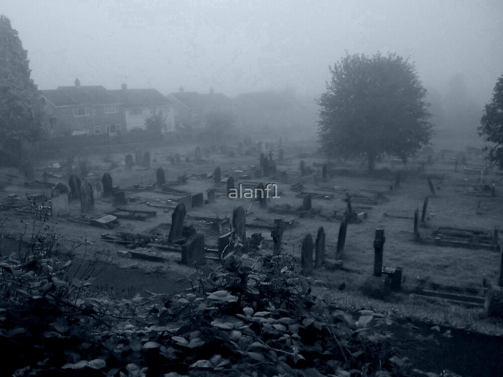 Graves out of the mist by alanf1