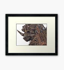 The Wicker Man Alton Towers Framed Print