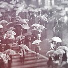 Rainy day in Shibuya by Guillaume Marcotte