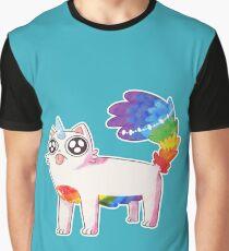 Cute Cat Graphic T-Shirt