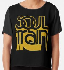 SOUL TRAIN (YELLOW) Chiffon Top