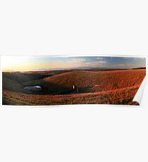 Hoddle range - South Gippsland Poster