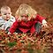 Children Playing In Leaves ~ CHALLENGE ACCEPTED!