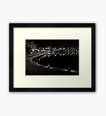 Canal's in Perth Framed Print
