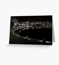 Canal's in Perth Greeting Card