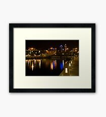 Overlooking Perth Framed Print