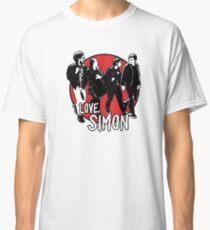 Love, Simon Friend Group Walking Classic T-Shirt