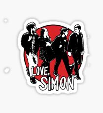 Love, Simon Friend Group Walking Sticker
