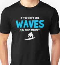 Funny Shirt For Daughter/Son. Surfing Costume From Dad. Unisex T-Shirt