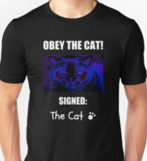 Obey The Cat Slim Fit T-Shirt