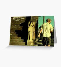 Marry Me Johnny Greeting Card