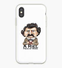 A Riel Piece of Work iPhone Case