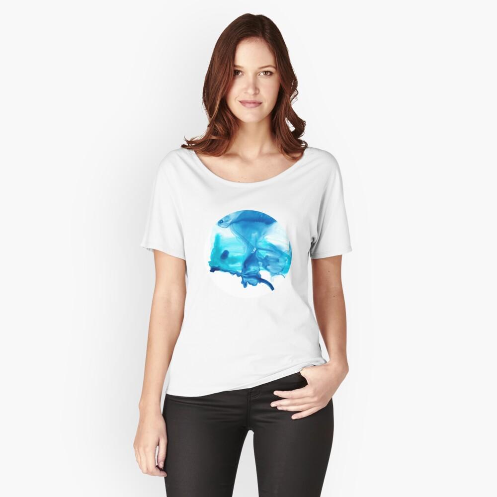 Butterfly 02 Baggyfit T-Shirt für Frauen Vorne