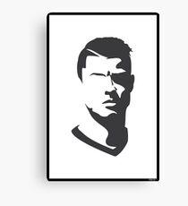 Cristiano Ronaldo Vector Portrait Canvas Print