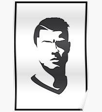 Cristiano Ronaldo Vector Portrait Poster