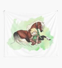 Link & Epona Wall Tapestry