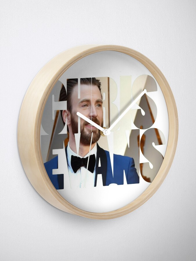 Alternate view of Chris Evans Clock