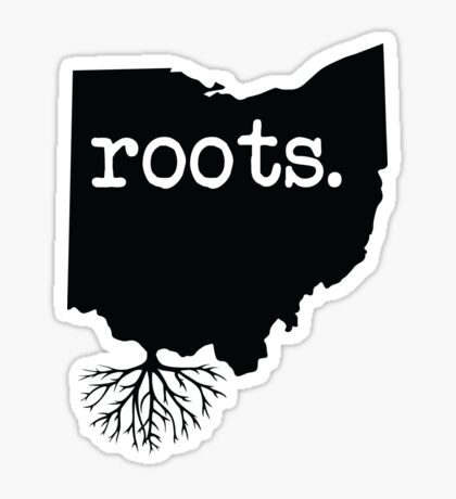 Ohio Wurzeln Sticker