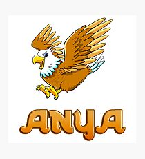 Anya Eagle Sticker Photographic Print