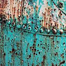 abstract beach teal green turquoise  by lfang77