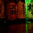 Comfort in the bottom of a sake bottle by fenjay