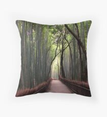 Bamboo Breathtaking Throw Pillow