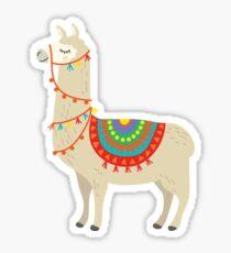 Party Lama Sticker