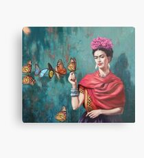 paint butterfly art Metal Print
