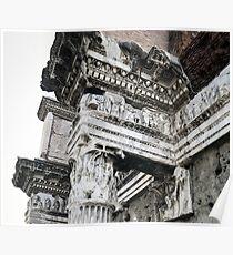 Ancient Roman Columns Poster