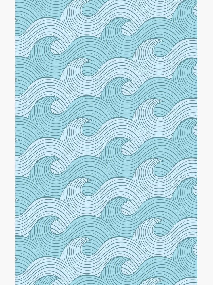 Blue Sea Waves de renatokolberg
